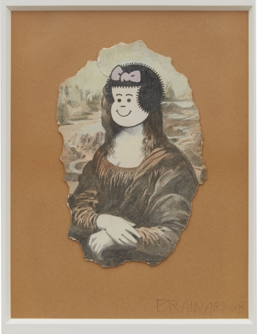 Joe Brainard, Nancy as Mona Lisa, 1968