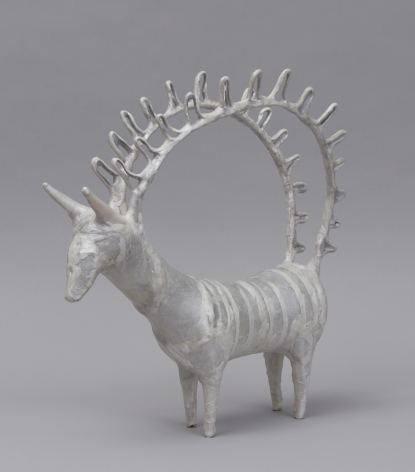 Shari Mendelson Animal with Large Antler Handles, 2019