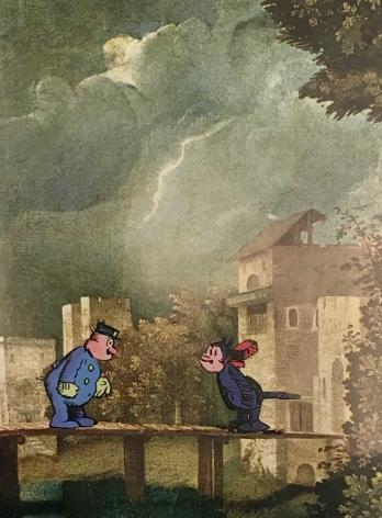 Storm at Castelfranco, 2016