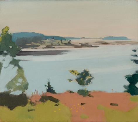 Fairfield Porter, Islands, 1968