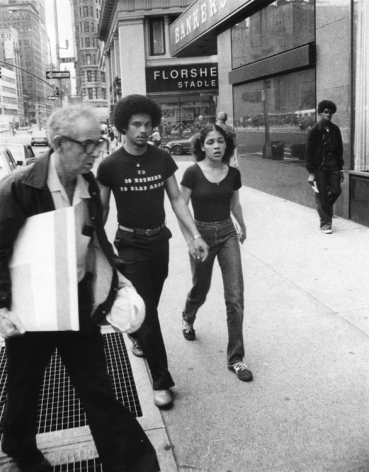 Rudy Burckhardt Untitled, New York (VD is Nothing to Clap About), c. 1975