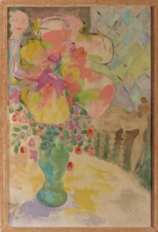 Jess (Collins) Four O'Clock Shadow of Purple Papier-Mâché, 1955