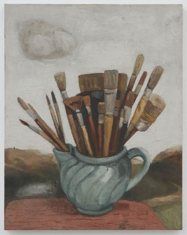 Richard Baker, Untitled (Pot of Brushes)