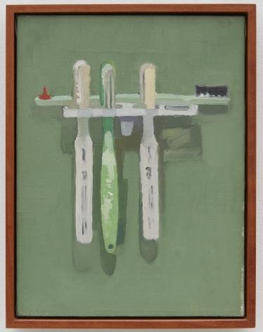 Joe Brainard, Untitled (Toothbrushes), 1973-74
