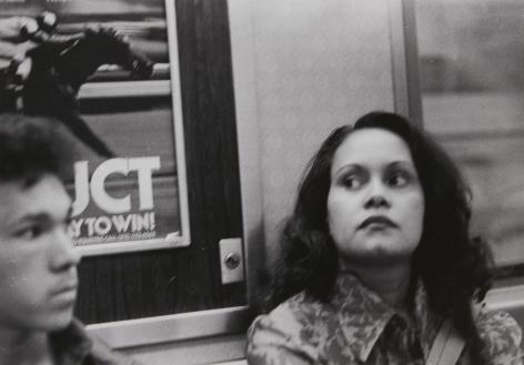 Rudy Burckhardt Subway, 1985