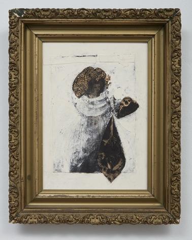 Bruce Conner Untitled (Dark Female Figure), 1956