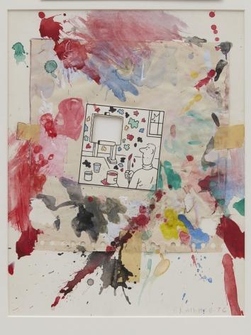 Joe Brainard, Untitled (Easel), 1976
