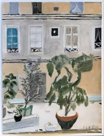 "Study for ""Facade sur Cour"", c. 1983-84"