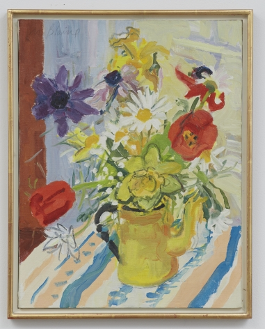 Nell Blaine Spring Flowers in Yellow Pot, 1972