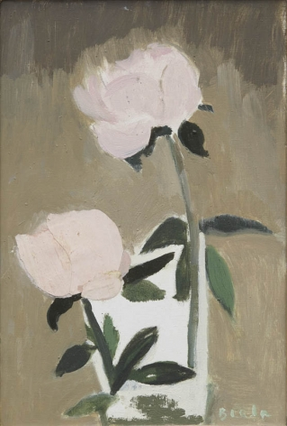 Two Pink Peonies, 1993