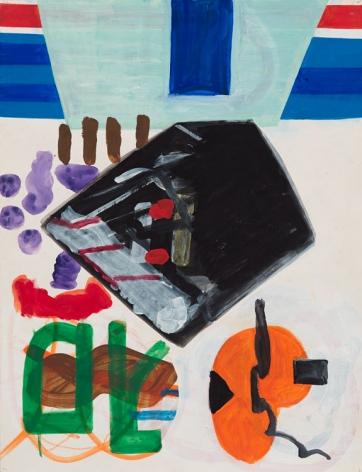 Shirley Jaffe Untitled (#1), n.d.
