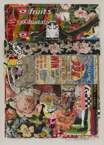 Joe Brainard, Chewing Gum Wrappers, 1971