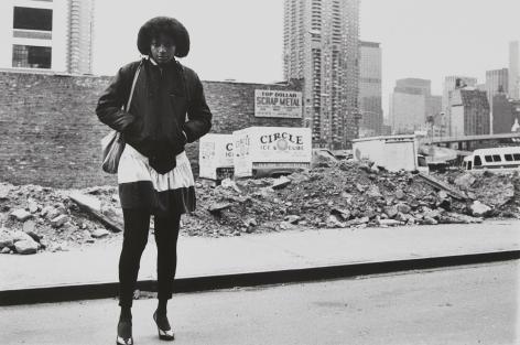 Rudy Burckhardt Tenth Avenue, c. 1981