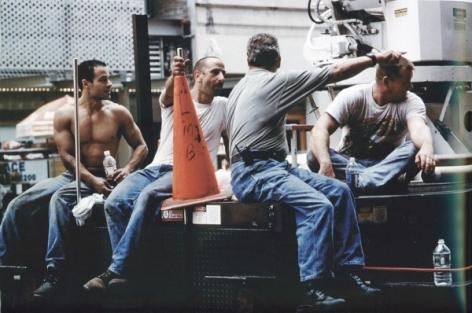 Louis Stettner Worker Freize, 2006