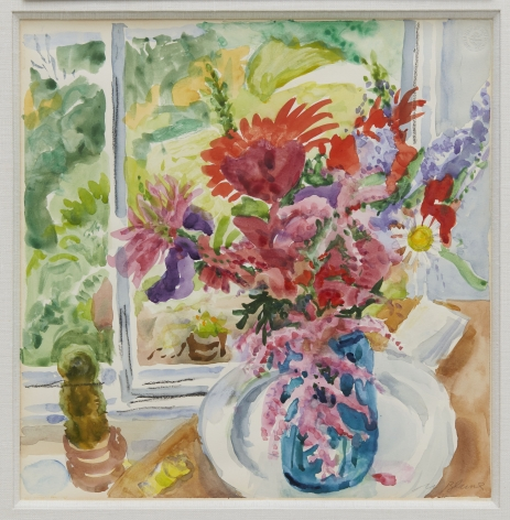 Nell Blaine Bouquet with Astilbe, 1987
