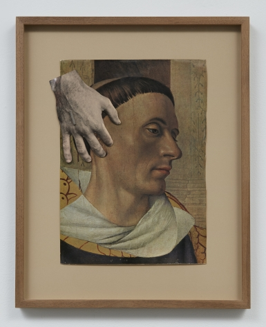 Jess (Collins) Untitled (Tonsured Monk), n.d.