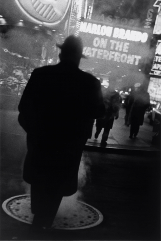 Louis Stettner, The Great White Way, Times Square