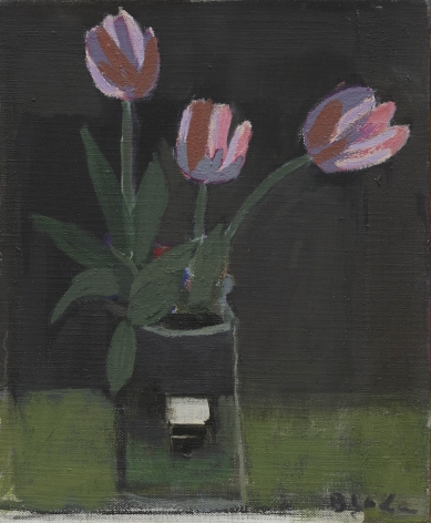 Untitled (Three Pink Tulips), 1973