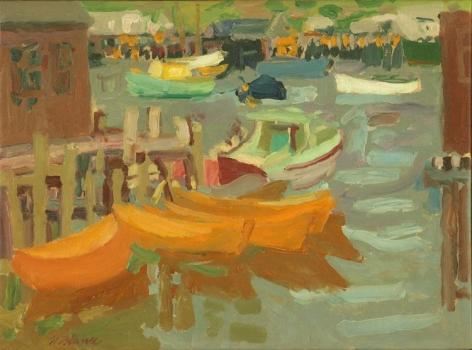 Nell Blaine Dories, Gloucester, 1963