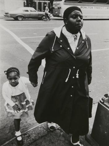 Rudy Burckhardt Untitled, New York (Woman with child), c. 1986