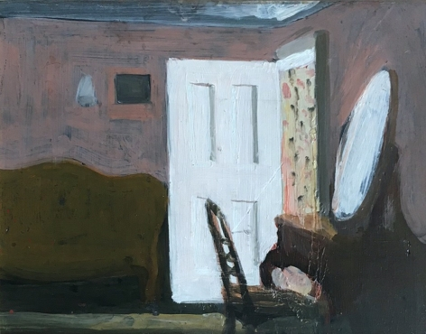 Fairfield Porter, Night, 1962