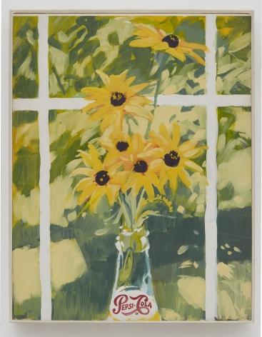 Joe Brainard, Untitled (Pepsi-Coila Black-eyed Susans), 1969