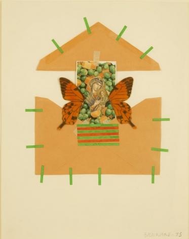 Joe Brainard Madonna of Peas, 1975