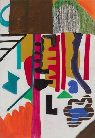 Shirley Jaffe, Untitled #63