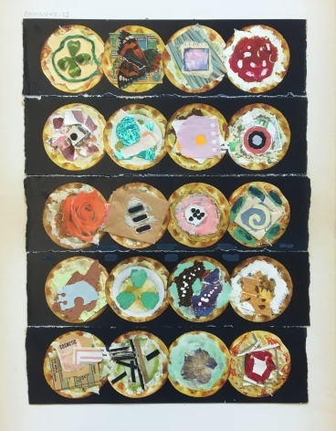 Joe Brainard Untitled (Cracker Collage), 1975