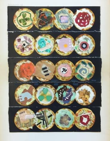 Joe Brainard Untitled (Cracker Collage), 1975