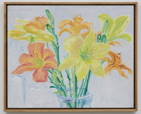 Nell Blaine Day and Night Lilies, 1980