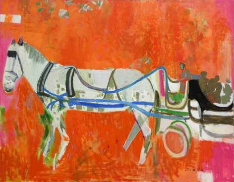 Horse and Carriage, c. 1983