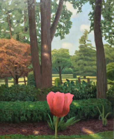 John Beerman Chatwood Trees and Poppy, 2016