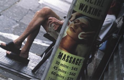Louis Stettner Massage 9th Avenue, 2011