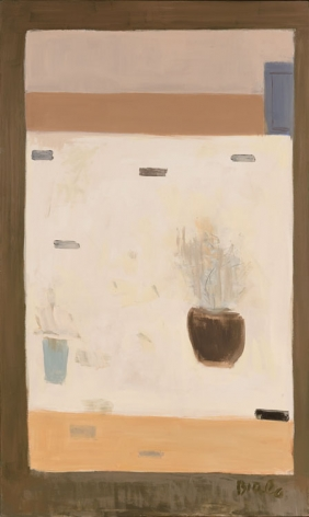 Untitled (White Still Life with Flowers), c.1974