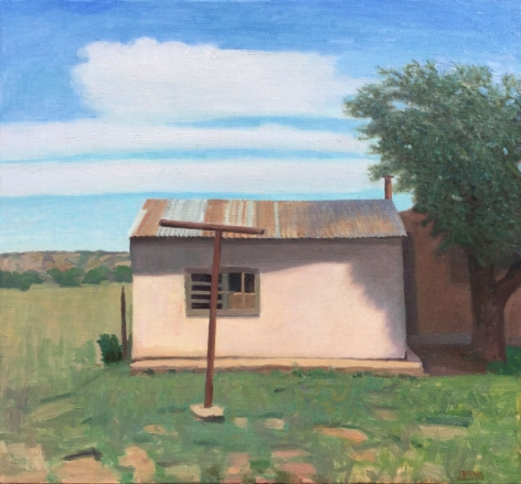Backyard Shed, Corona, 2015