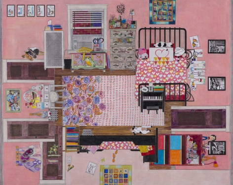 Ann Toebbe, The Girls's Room