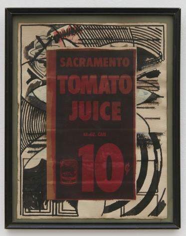 Joe Brainard, Untitled (Tomato Juice), n.d.