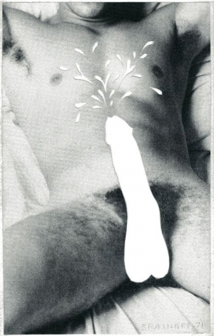 Joe Brainard Untitled (Male Nude), 1971