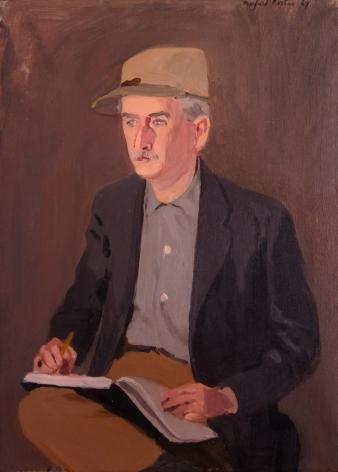 Fairfield Porter, Portrait of Don Cord, 1967