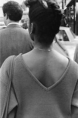 Rudy Burckhardt V-Back, New York, 1985
