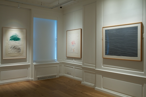 All works Sonnabend Collection, New York. © Cy Twombly Foundation