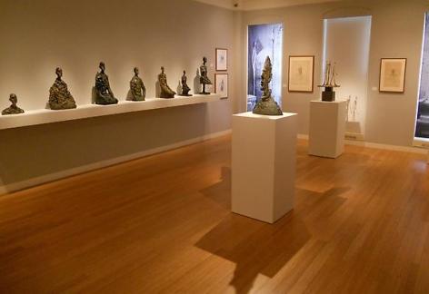 All artwork by Alberto Giacometti © Succession Giacometti / 2010 ARS / ADAGP, Paris