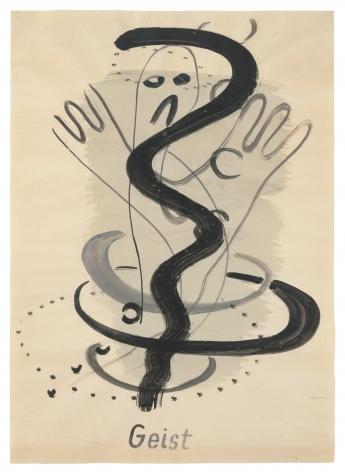Sigmar Polke,Geist [Ghost], 1966