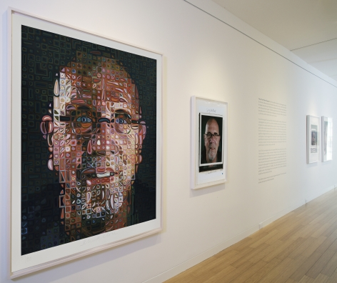 © 2013 Chuck Close, courtesy Pace Gallery