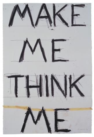Bruce Nauman,Make Me Think Me, 1993