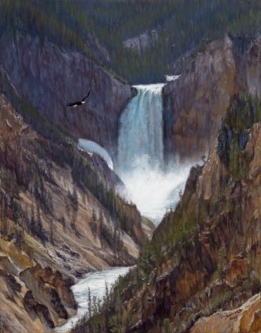 Yellowstone Falls, 2019