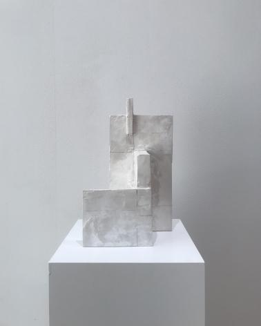 "Structures: Planes. Untitled Walls (L.B.). 2018. 12"" x 8 1/2"" x 4 3/4"""
