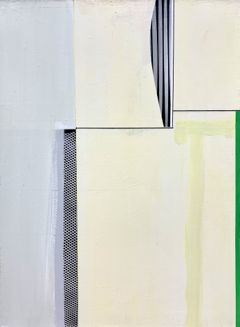 Gordon Moore. Untitled. 2018. Acrylic, latex and pumice on canvas