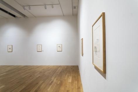 James Scott - David Hockney at Anita Rogers Gallery